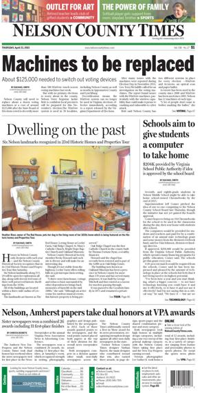 Nelson County Times for April 23, 2015