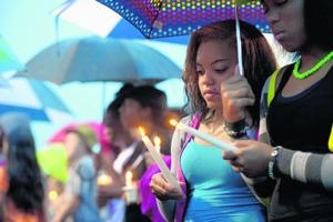 Candlelight vigil held for missing Nelson County teen