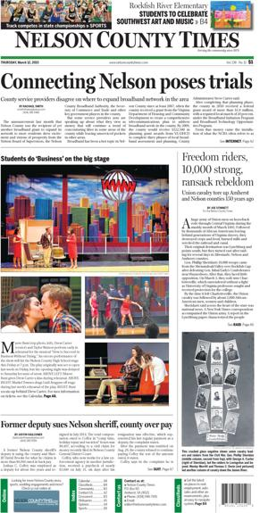 Nelson County Times for March 12, 2015