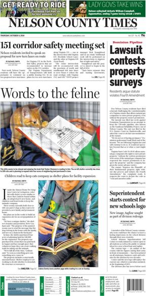 Nelson County Times for Oct. 9, 2014
