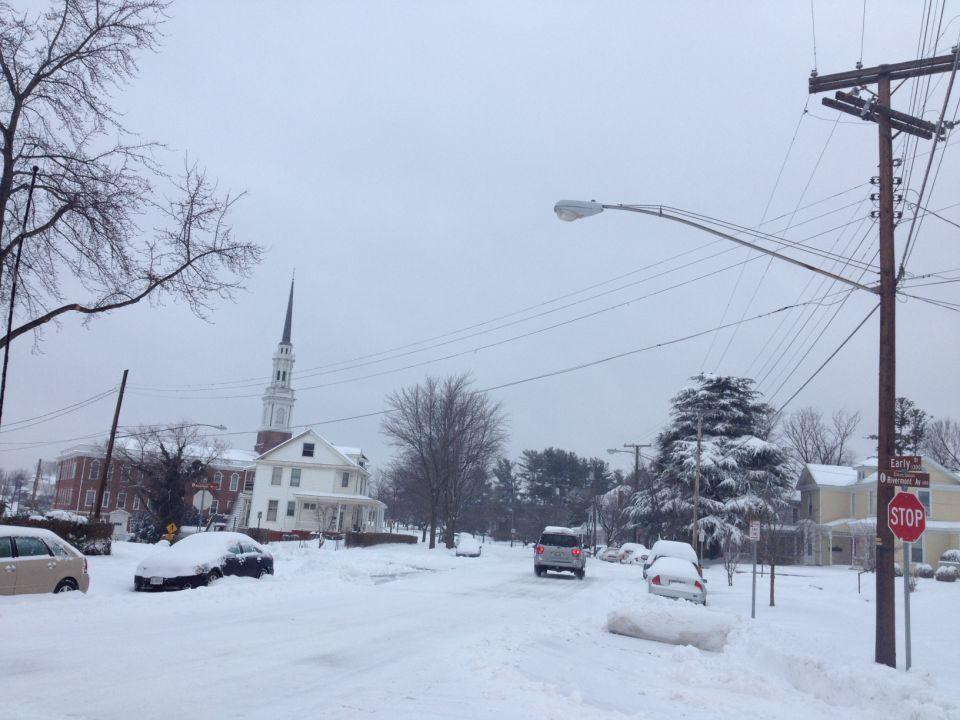 Snow Thursday morning