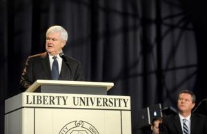 Newt Gingrich, Jerry Falwell Jr.