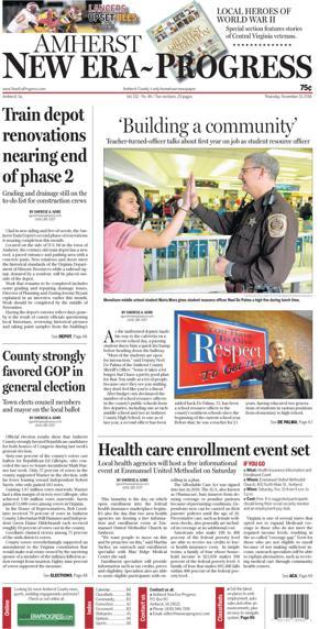Amherst New Era-Progress for Nov. 13, 2014