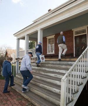 McLean House porch