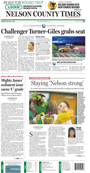 Nelson County Times for Nov. 7, 2013