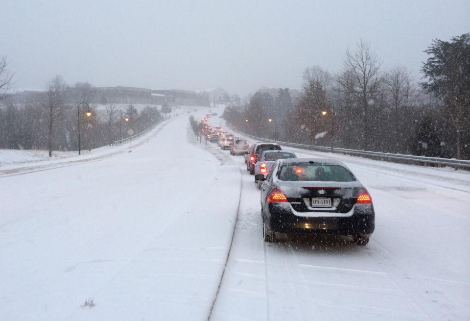 Enterprise Drive at a standstill