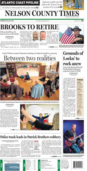 Nelson County Times for Feb. 5, 2015