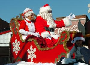 Santa to serve as Grand Marshal