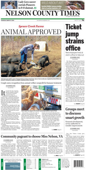 Nelson County Times for March 27, 2014