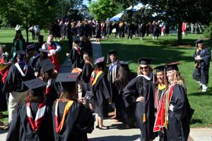More than 700 students graduate from Lynchburg College