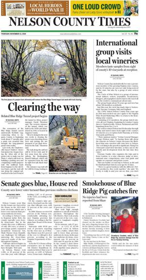 Nelson County Times for Nov. 13, 2014