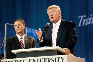 Donald Trump Liberty University Lynchburg
