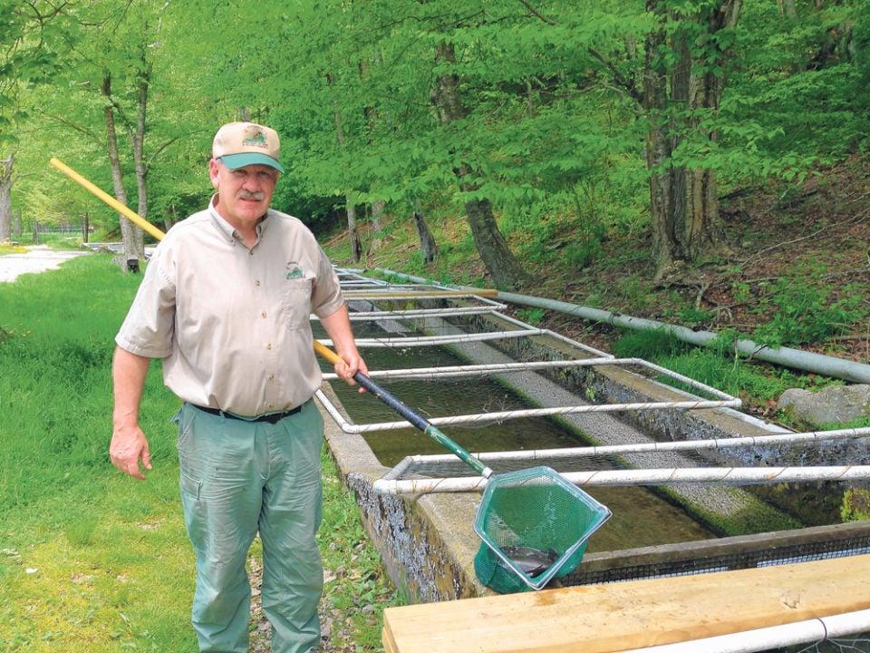 Fish hatchery closes to finish improvements nelson news for Virginia fish hatchery