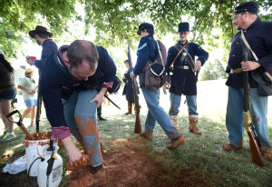 History re-enacted for Appomattox Court House park film