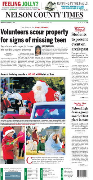 Nelson County Times for Dec. 5, 2013