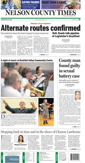 Nelson County Times for May 21, 2015