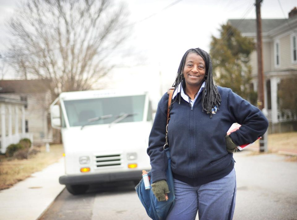 Mail Carrier Honored For Saving Woman From Fire