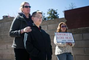 Rally for same-sex marriage held in Lynchburg