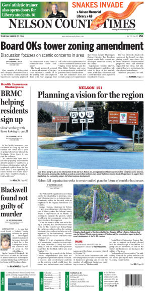 Nelson County Times for March 20, 2014