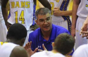 Monroe rams Houston on basketball court