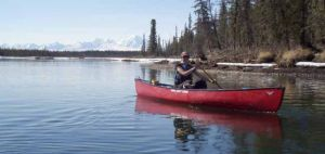 Early season float trip breaks ice for Fairbanks Paddlers
