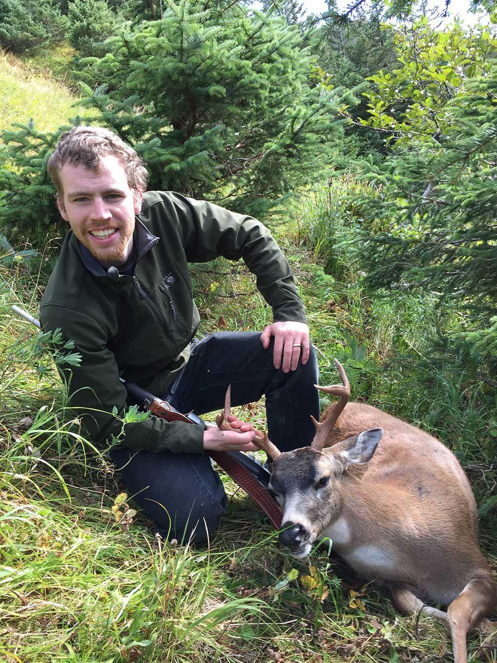 Public Use Cabin A Good Base For Afognak Island Deer Hunt