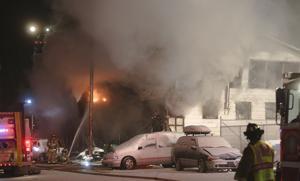 Fire destroys south Fairbanks business, apartment