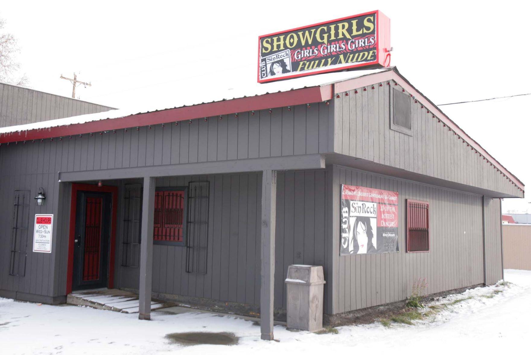 Club nude fairbanks strip