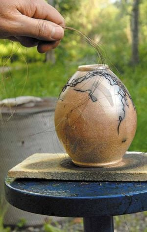 Art of raku pottery blazes to life under Alaska's Midnight Sun