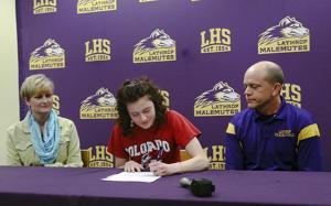Allison Hebard signs to run for Colorado State University-Pueblo
