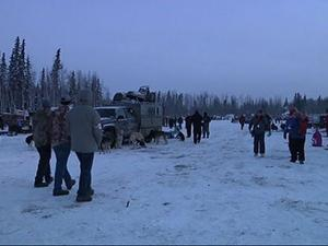 Iditarod Begins on New Route Across Alaska