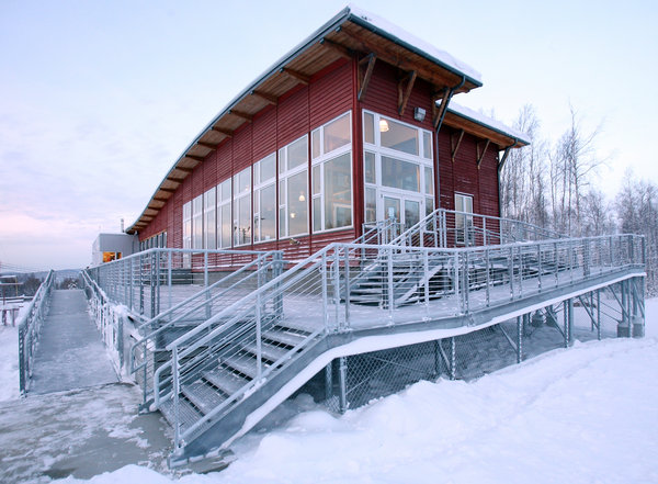 Birch Hill Cross Country Ski Center's new deck needs repair