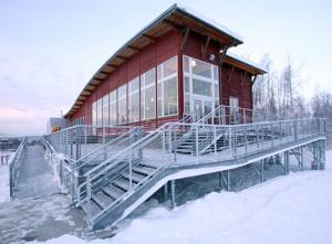 Birch Hill Cross Country Ski Center's new deck needs repair