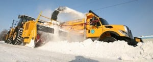 Fairbanks city crews working to remove snowstorms' aftermath
