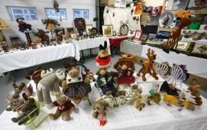 North Pole woman prepares to sell vast moose collection
