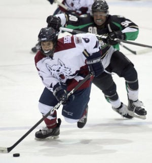 Ice Dogs down Fresno in shootout