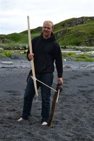 Finnish researcher in Kodiak to study Alutiiq bows