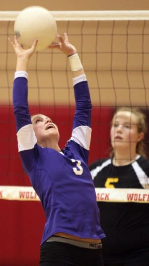 West Valley spikers top Lathrop