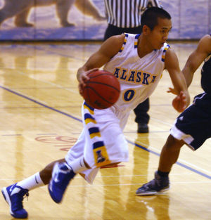 Tournament champs: Nanooks race past Colorado Christian to take GCI Invitational