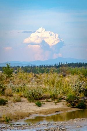 Caribou Creek fire