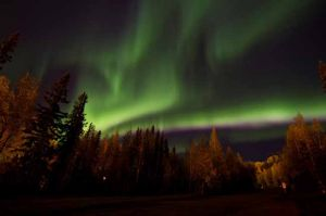 Alaskans welcome season of the aurora borealis
