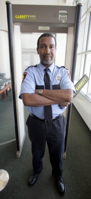 Fairbanks security guard deals with the good, the bad, the hostile