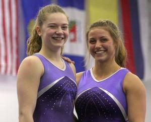 Headed to USA Gymnastics Junior Olympic Western Nationals
