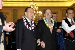Alaska's third senator: Hawaii Sen. Daniel Inouye's influence stretched beyond his home state