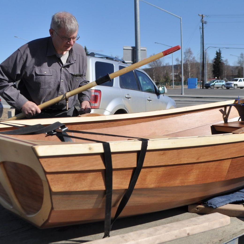 Folk School class builds New England-style rowboats
