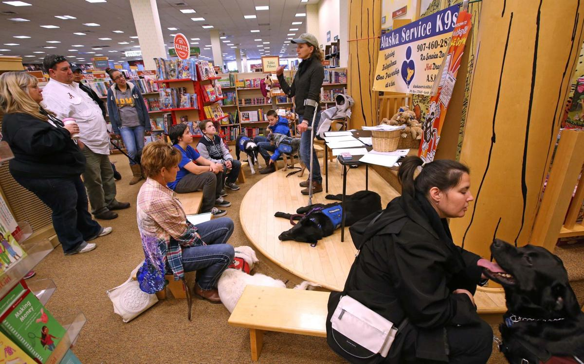 Ruff day for service dogs: Barnes and Noble hosts annual ...