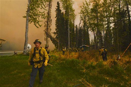 APTOPIX Alaska Wildfires
