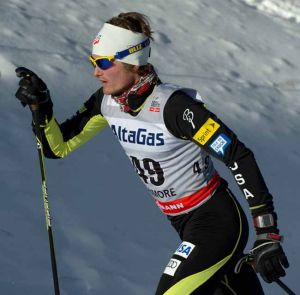 Randall takes sixth place in Canmore World Cup race
