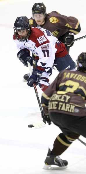 Ice Dogs come up short against Kenai Brown Bears