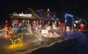 Kenai holiday display brightens the season